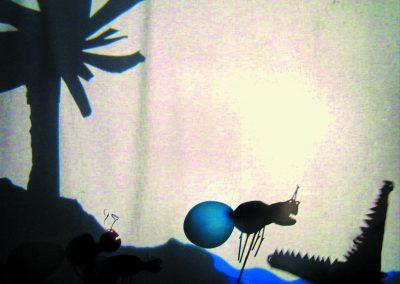 La fourmi et le crocodile.3©Baobab Théâtre